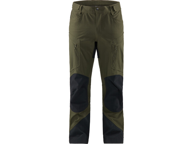 Haglöfs Rugged Mountain Pantalones Hombre, deep woods/true black